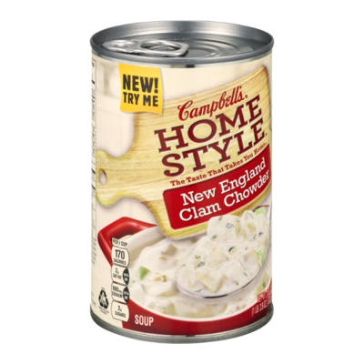SPECIAL PURCHASE Campbells Home Style Clam Chowder
