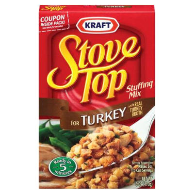 Stove Top Turkey Stuffing BB May17